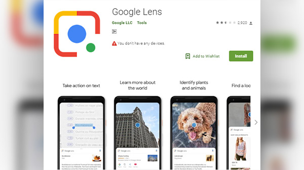 How to use Google Lens