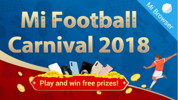 Xiaomi announces Mi Football Carnival 2018