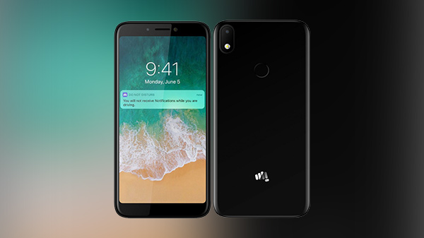 Micromax Canvas 2 Plus with an 18:9 aspect ratio display launched