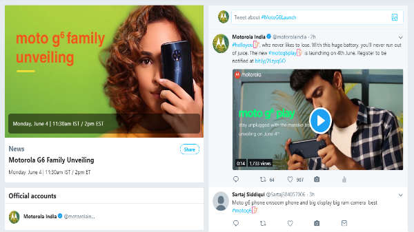 Motorola partners with Twitter India