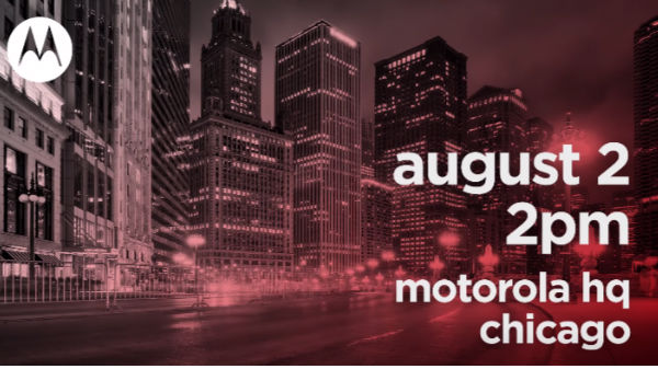 Motorola teases August 2 smartphone launch; Moto Z3, Moto One Power