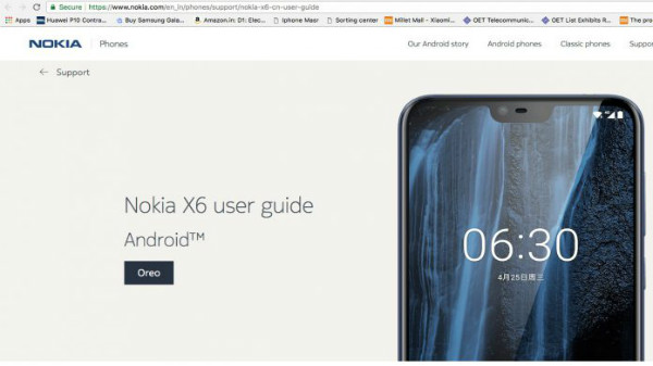 nokia x6 india launch imminent support page is live on official rh gizbot com Full Specification Nokia X6 Full Specification Nokia X6