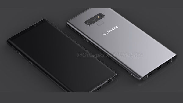 Samsung Galaxy Note 9 new render revealed new design and more