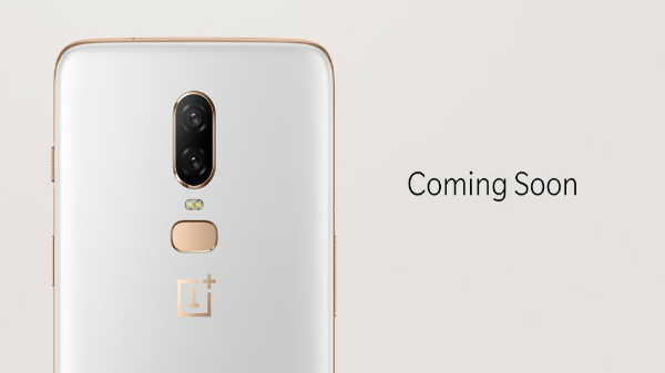 OnePlus 6 Silk White limited edition will be available on the 12 June