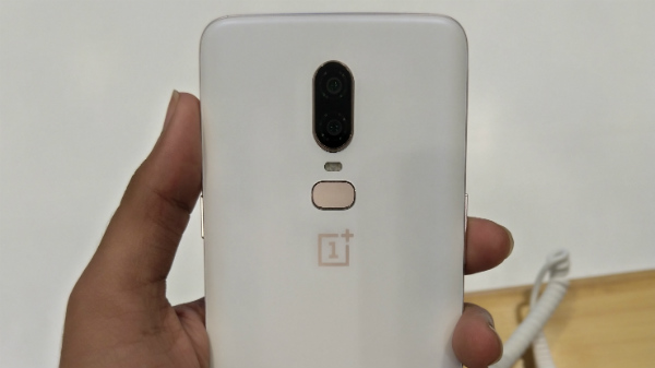 OnePlus 6 Silk White version to go on sale in India from 5th of June