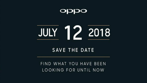 Oppo Find X to launch in India on the 12th of July 2018