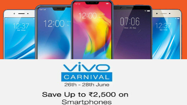 Paytm Mall Vivo Carnival Sale: Vivo V9, V9 Youth, Vivo Y53i and more