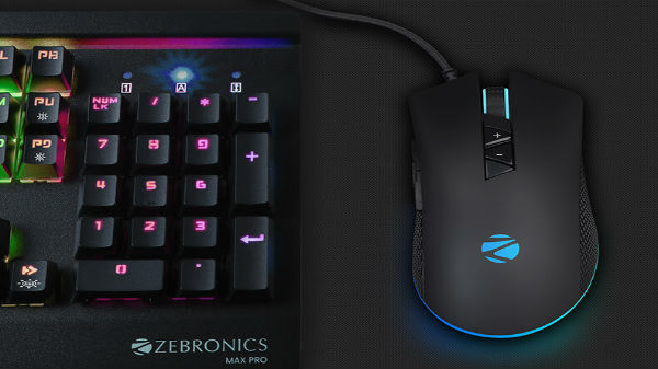 Zebronics launches 'Phobos' gaming mouse with RGB lights