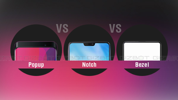 Pop-up Vs Notch Vs Bezel-less: The latest trend in smartphone industry
