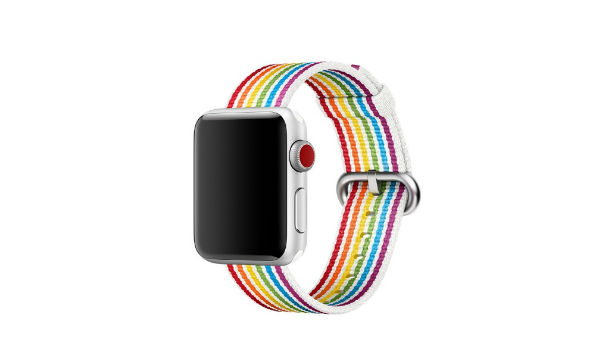 Apple announced Pride Edition Woven Nylon band at WWDC 2018