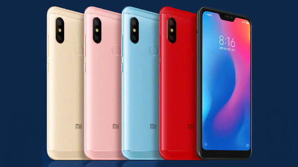 Xiaomi Redmi 6 Pro announced with AI dual cameras, notch and more