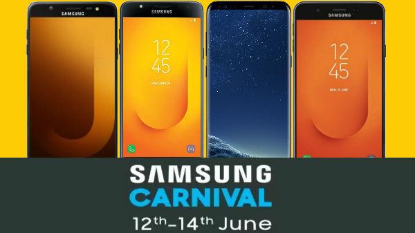 Samsung Carnival on Flipkart: Discounts offers on smartphones