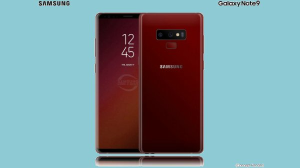 Samsung Galaxy Note 9 will not feature a physical shutter button