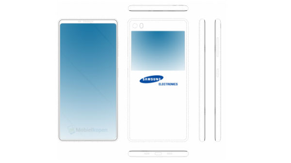Samsung patent suggest an upcoming bezel-less dual-screen smartphone