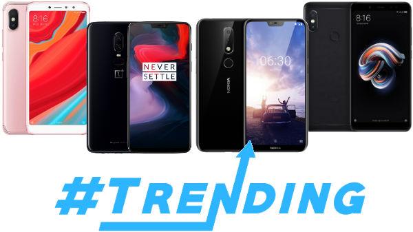 Trending smartphones from last week: Xiaomi Mi 8, Nokia X6 and more