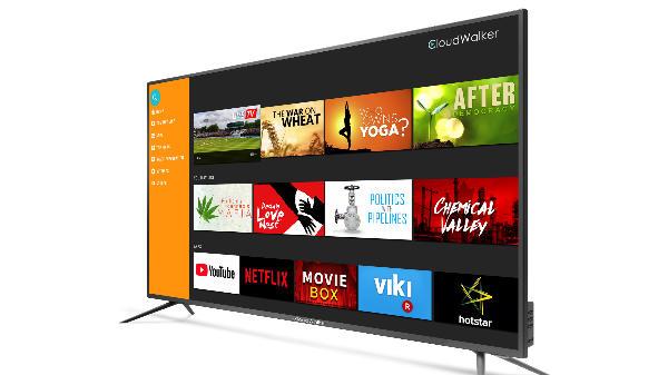 CloudWalker unveils 4K Ready Full HD Smart TVs, price starts