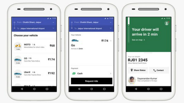 Uber Lite: Cab booking app made for older and slower smartphones