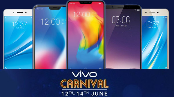Vivo Carnival Sale on Amazon: Vivo V9, V9 Youth, V7 Plus, Y83 and more