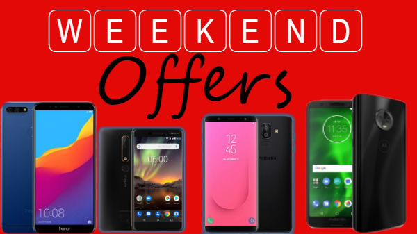 Weekend offers on new smartphones: Honor 7C, Nokia 6.1 and more