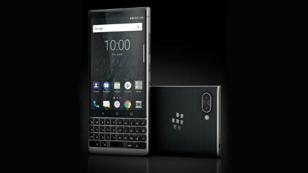 BlackBerry KEY2 with physical QWERTY keypad announced