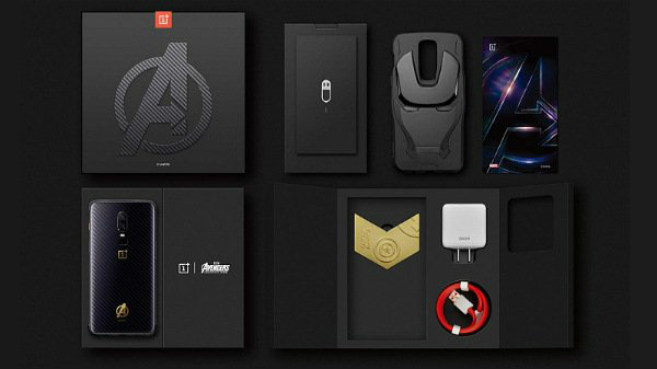 OnePlus 6 Marvel Avengers Limited Edition last sale today