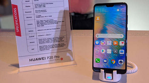 Huawei P20 Pro to bring 960fps slow-motion with upcoming update