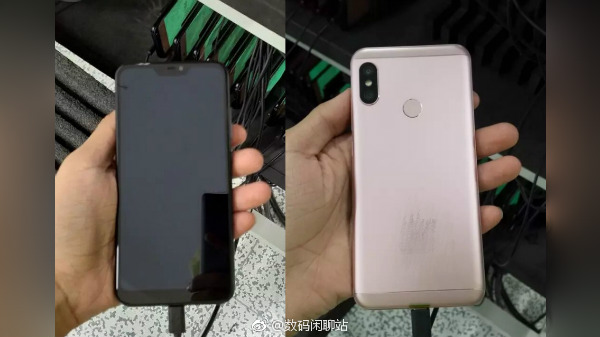 Xiaomi Redmi 6 live photo shows Rose Gold variant