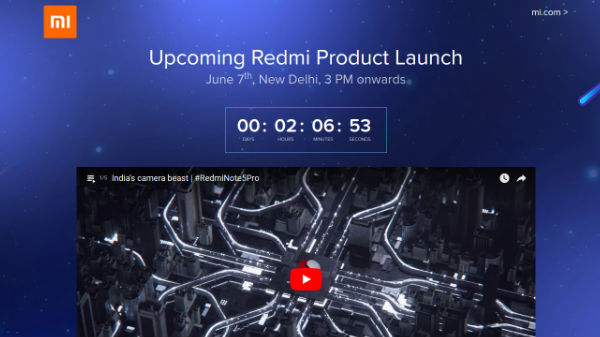 Xiaomi Redmi Y2 India launch: Watch live steaming here