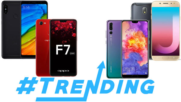 Most trending smartphones of this week: Oppo Find X, Redmi Note 5 Pro, Huawei nova 3i and more