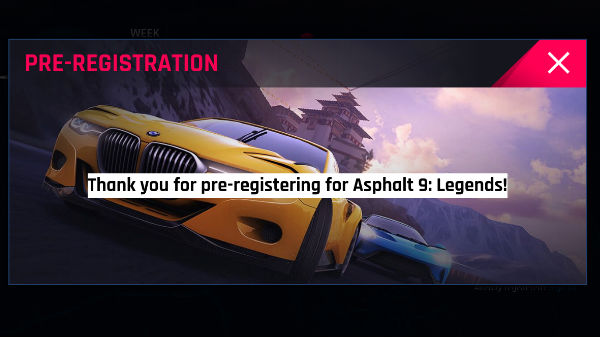 Asphalt 9: Legends up for pre-registration on Google Play Store