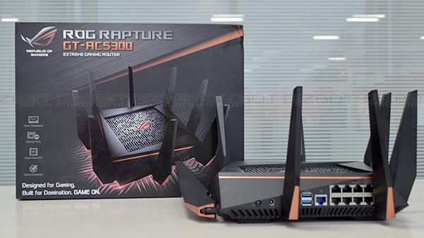 Asus ROG Rapture GT-AC5300 review: A router for the gamers