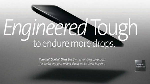 Corning Gorilla Glass 6 announced with 2x damage resistance