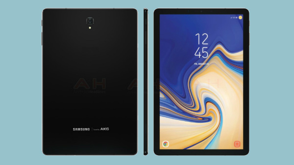 Samsung Galaxy Tab S4 leaked renders reveal key design elements