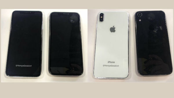 This is how the Apple iPhone X Plus and 6.1-inch iPhone will shape up