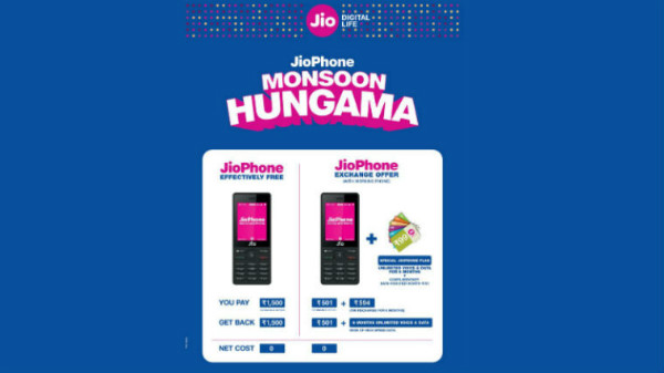 Is your old feature phone is eligible for the Monsoon Hungama offer?