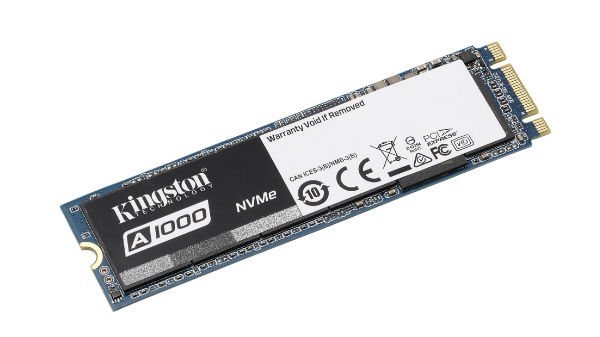 Kingston launches its A1000 entry-level NVME PCIe SSD In India