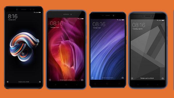List of Xiaomi smartphones to buy in India