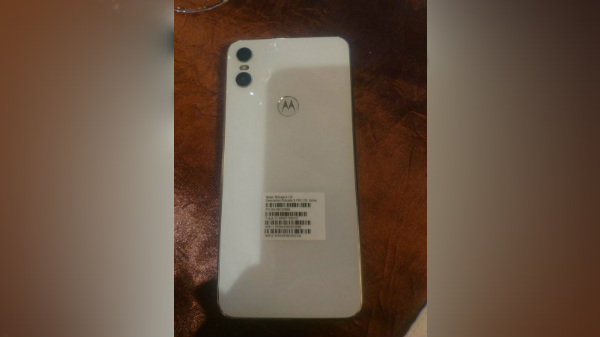 Motorola One live images leak in while color