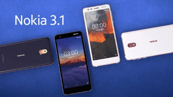 Nokia 3.1 with Android One launched in India for Rs. 10,499