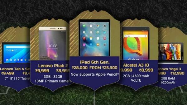 Flipkart Discounts and Exchange offers top deals on terrific tablets