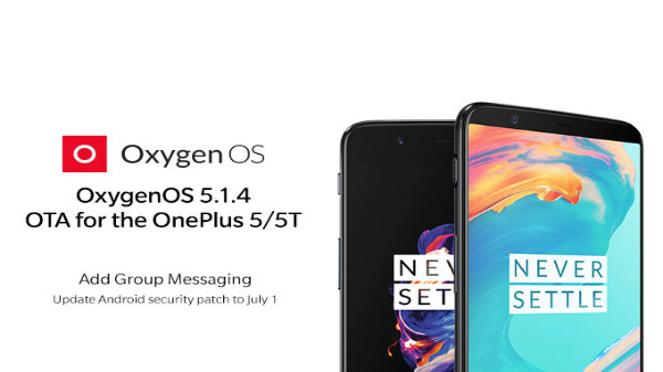 OnePlus 5/5T software update: sleep standby optimization and more