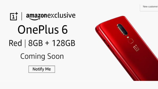 OnePlus 6 new colour variant unveiled for Rs 39,999