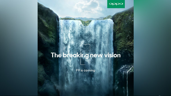 Oppo F9 with smaller notch teased: August launch likely