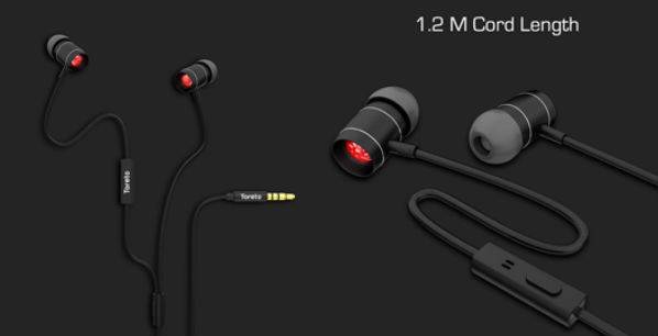 Toreto launches Roar stereo wired earphones in India at Rs 1,099