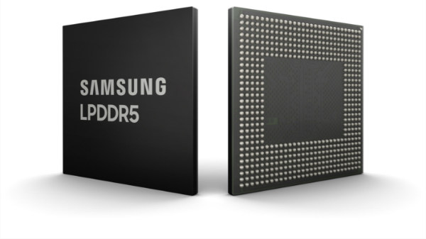 Samsung announces world's first 8 GB LPDDR5 RAM for smartphones