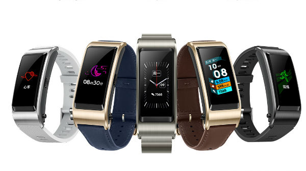 Huawei TalkBand B5 with AMOLED display and pop out Bluetooth announced