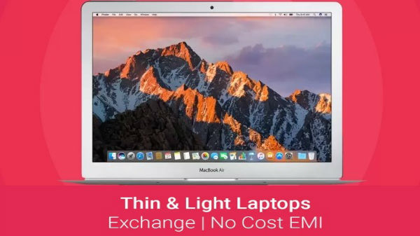Lightweight laptops to buy on EMI and exchange offers in India