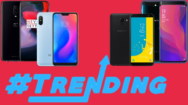 Trending smartphones from last week