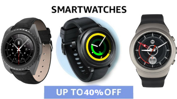 Smartwatches are now available with up to 40% off on Amazon