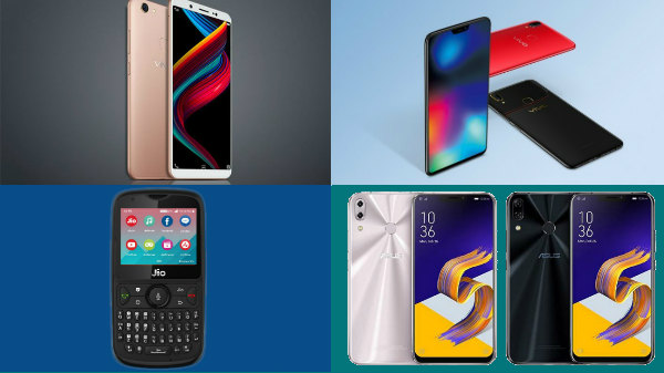 Week 27, 2018 launch round-up: Oppo A5, JioPhone 2, Vivo Z10 and more
